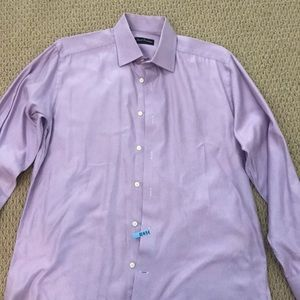 Men's Purple Dress Shirt 15.5 34/35